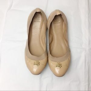 Tory Burch | Tan Ballet Flats | 10.5